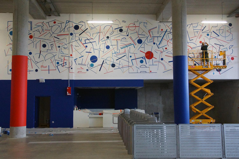 Fresque street art Grems offside Gallery