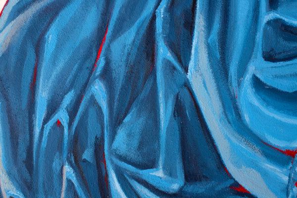 peinture street art ratur pour offside gallery au stade de Lyon