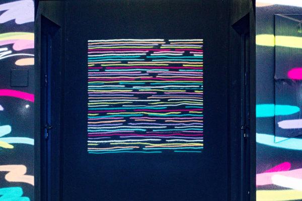 Intervention de Tomas Lacque pour Offside Gallery